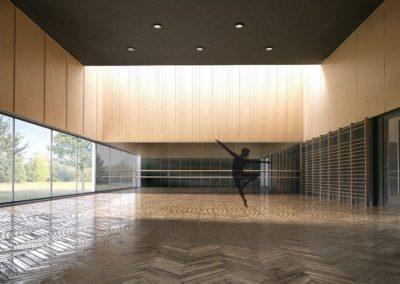 Rozbudowa domu kultury o salę taneczną – Włoszczowa