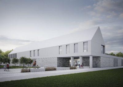 Koncepcja urbanistyczno-architektoniczna zagospodarowania terenów przy urzędzie gminy Michałowice w regułach ze szczególnym uwzględnieniem kampusu edukacyjnego oraz energoefektywnego przedszkola